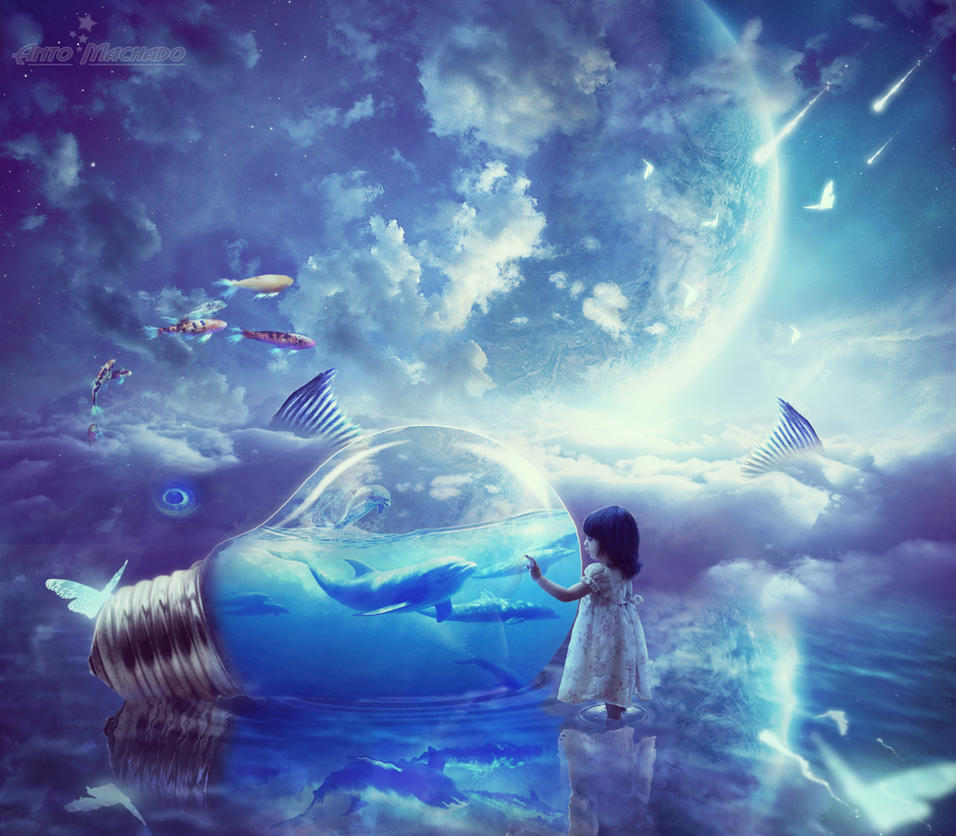 Luminescent dream by antoshines on deviantart for Dreaming of fish