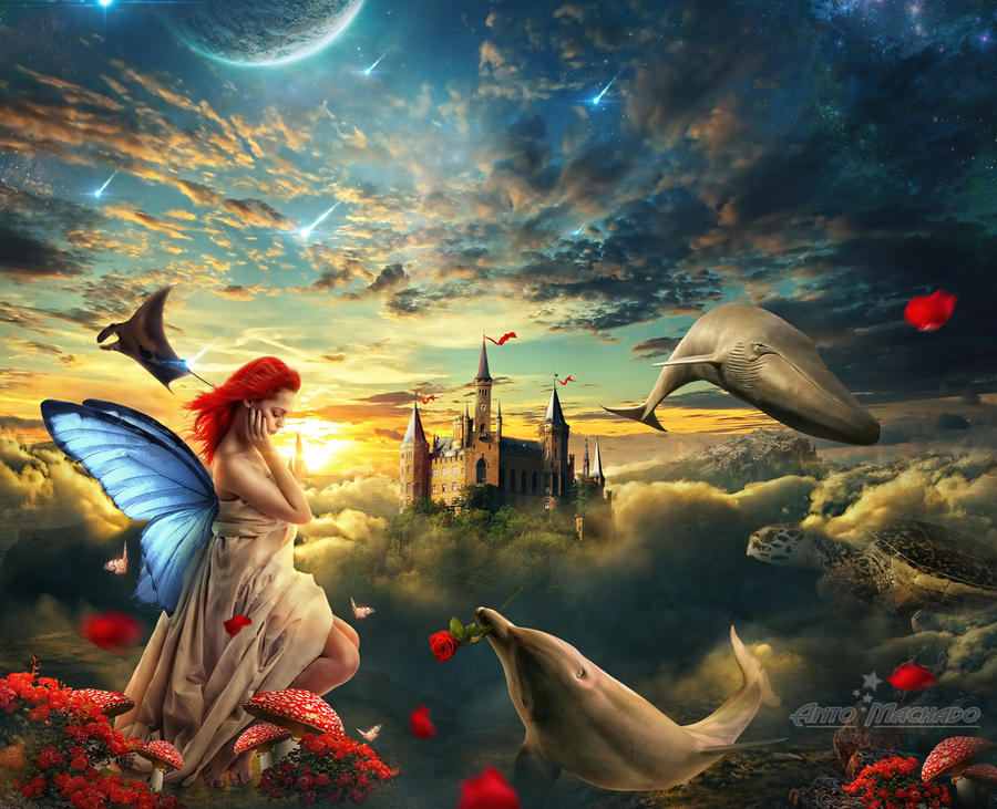 Dolphin Fantasy by Antoshines