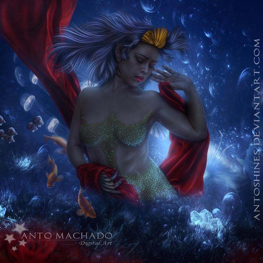 Mermaid blue (updated) by Antoshines