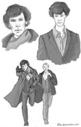 Sherlock Spam by Irise
