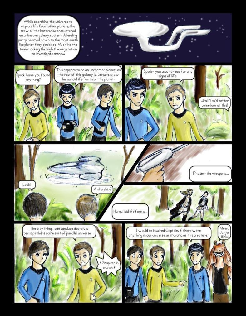 Star Trek meets Star Wars - 1 by Irise