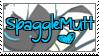 Spagglemutt Stamp v.3 by qhostySTAMPS