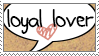 Loyal Stamp by qhostySTAMPS