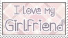 I Love my Girlfriend Stamp v.2 by qhostySTAMPS