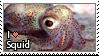 I love squid stamp