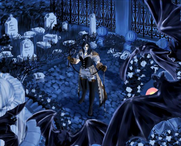Castlevania:Trevor Bermont by peony7716