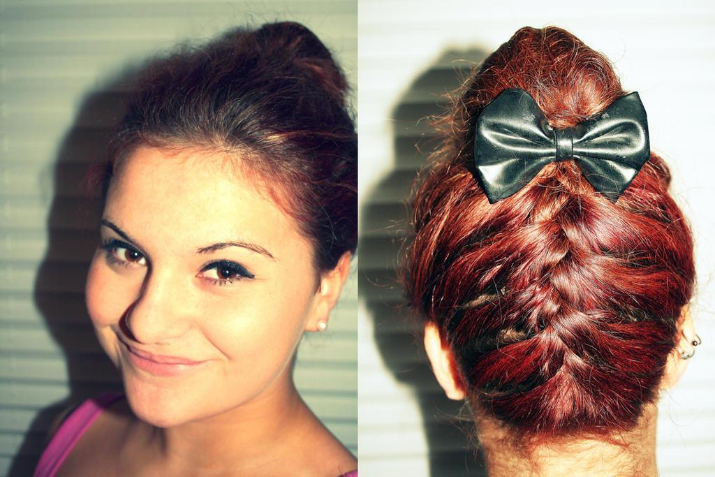 Cute Bun Hairdos 116