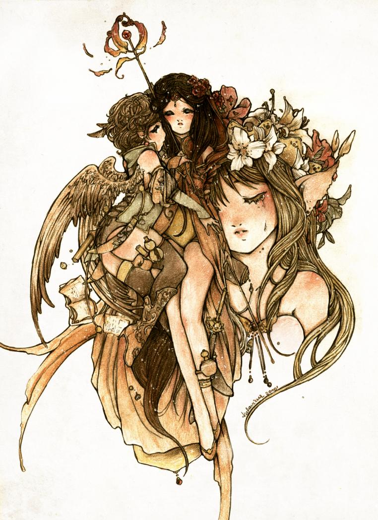 forgotten legends by Katarinea