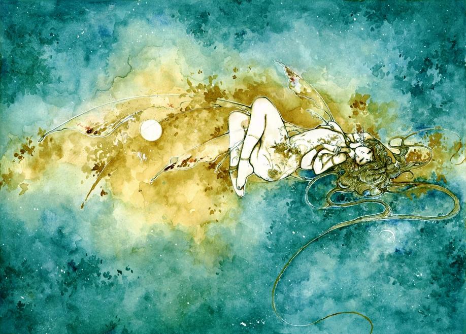 between sun and moon by katarinea