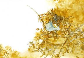 golden lake by Katari-Katarina