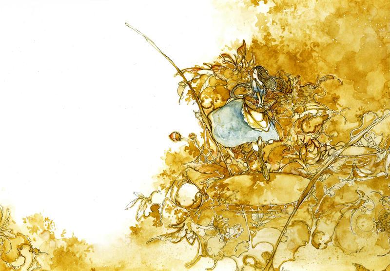 golden lake by katarinea