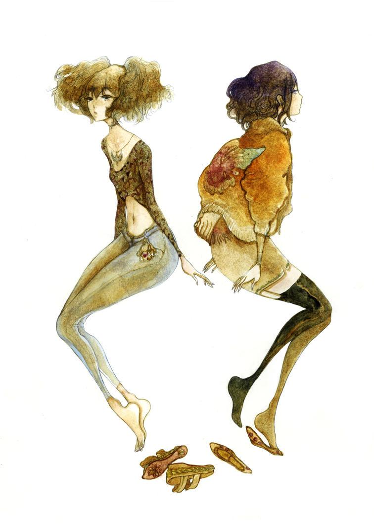 Allison and Sian by Katarinea
