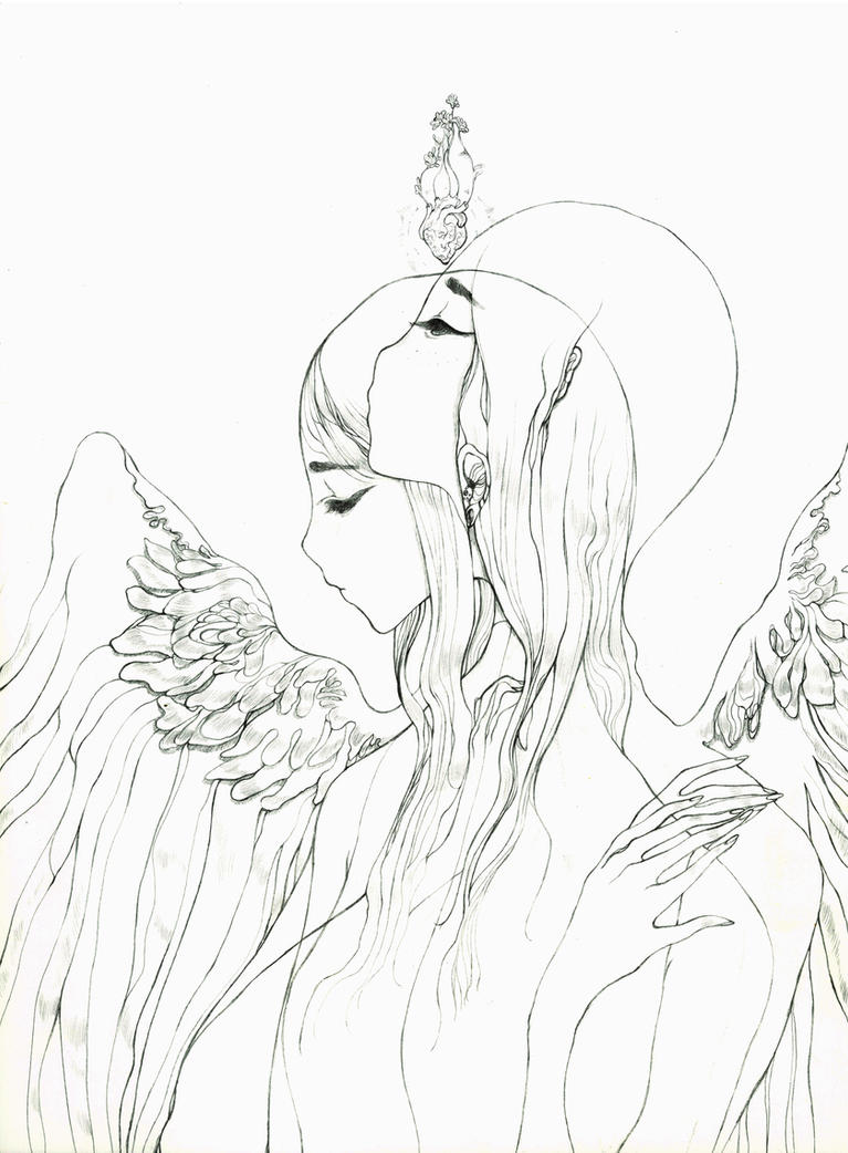 Two Angels by Katarinea