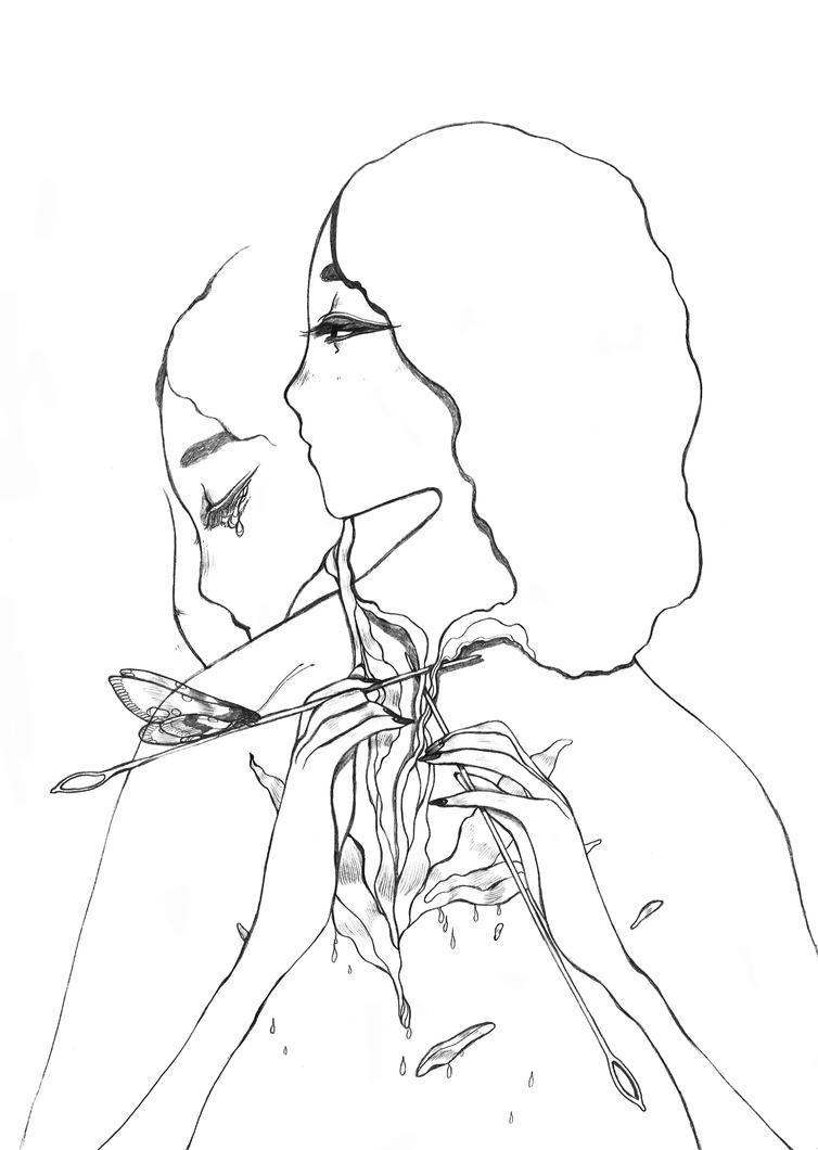 Sewing by Katari-Katarina