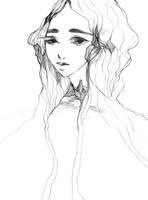 Portrait with necklace by Katari-Katarina