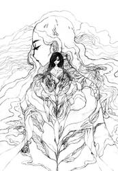 Hands and tears by Katari-Katarina