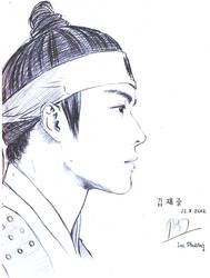 Kim Jae Joong by vampirehunterphd