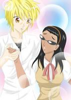 Eri and Harima Gender-Bender by reiko-akire