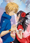 [Kaichou wa Maid-sama]  Usui and Misaki