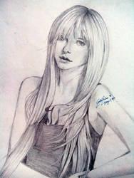 Pencil Sketch: Avril Lavigne