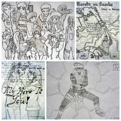 My Childhood: Throwback Naruto Fan Arts