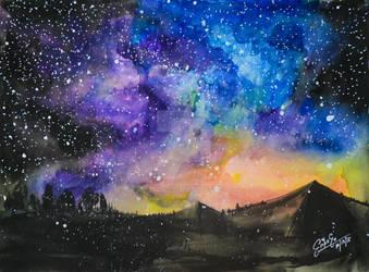 Galaxy Meets Land