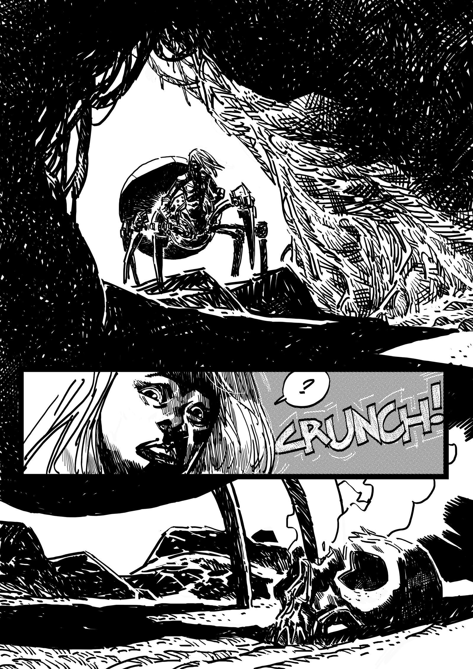 TUEBOR comics by mariankiller