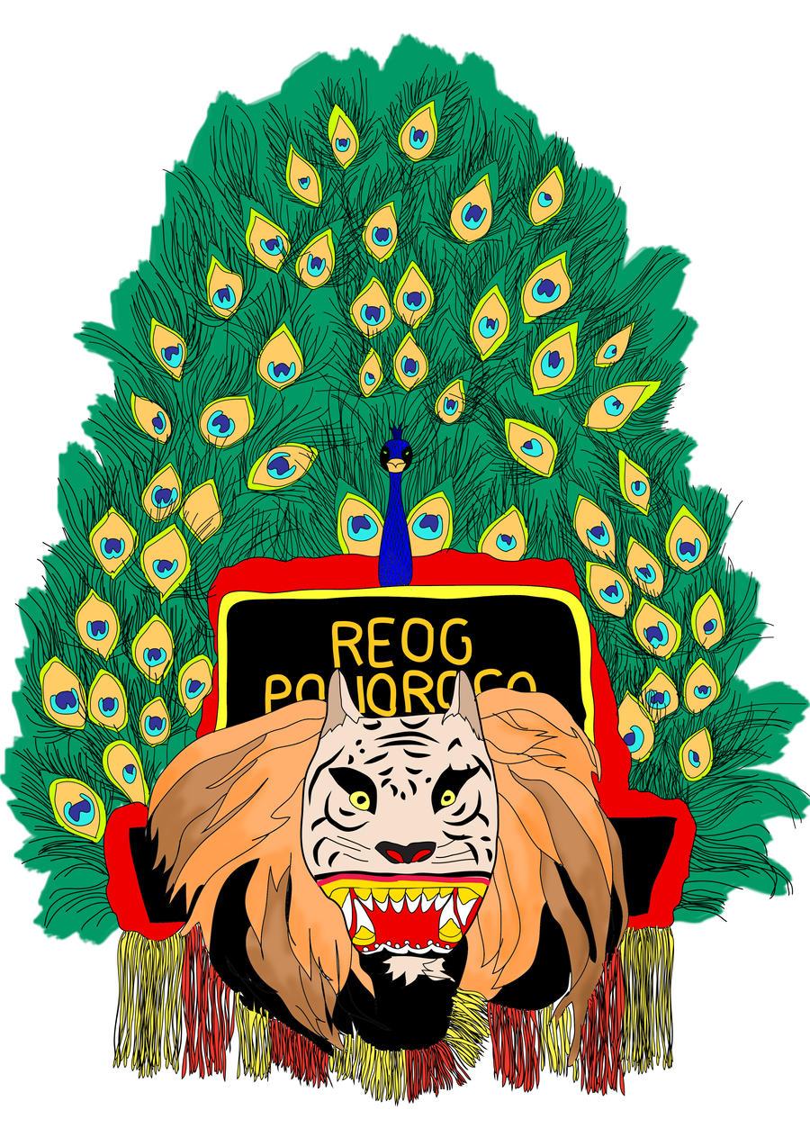 Reog Ponorogo Indonesia Winnyirmarooke Deviantart Gambar