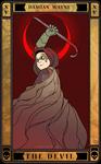 THE DEVIL: Damian Wayne