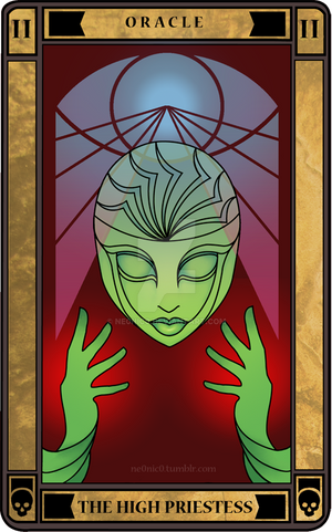 THE HIGH PRIESTESS: Oracle