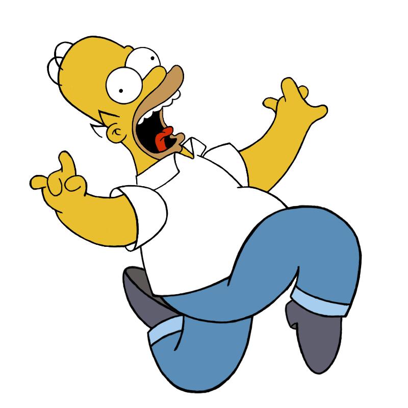 Homer Simpson by Trisstam