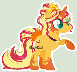 [Redesing] Sunset Shimmer by DinkyDooLove
