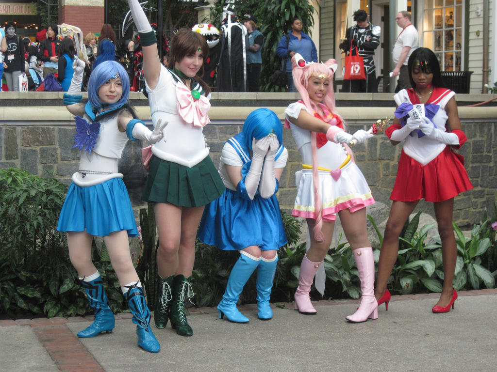 Katsucon 2013 Sailor moon photoshoot by VocaloidBrit