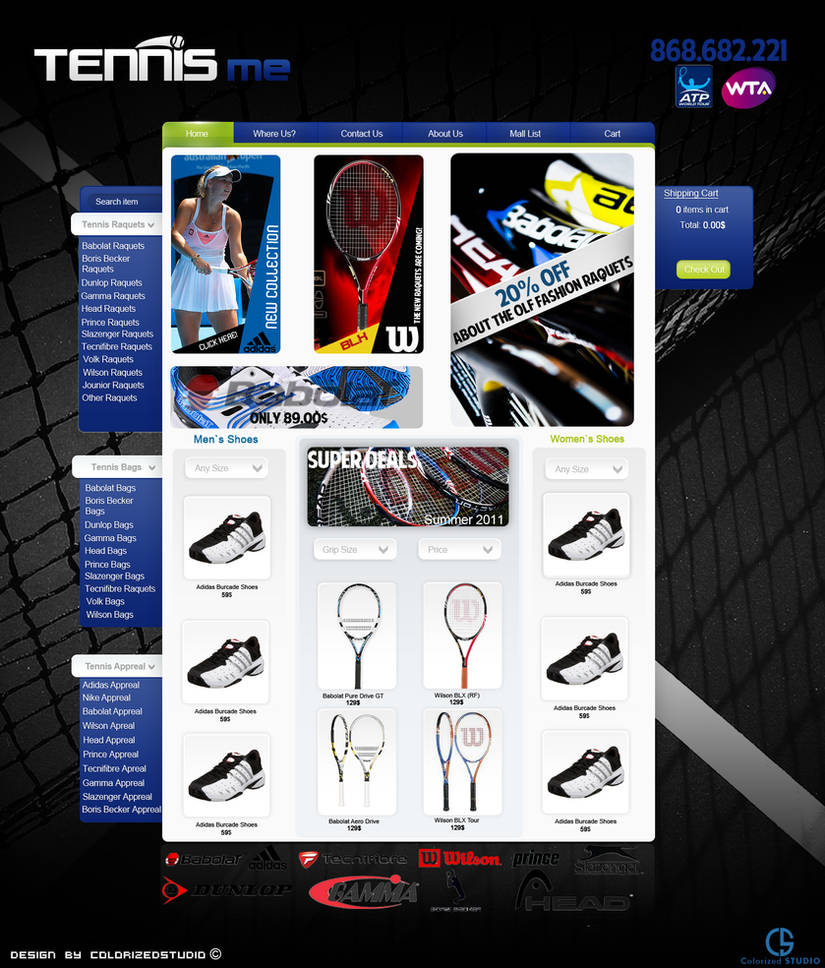 Tennis Me Web-For Sale