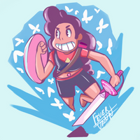 ArtTrade: Stevonnie by EN17