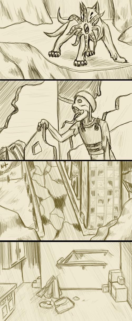 Random RA Sketches 03 by Zienkyer