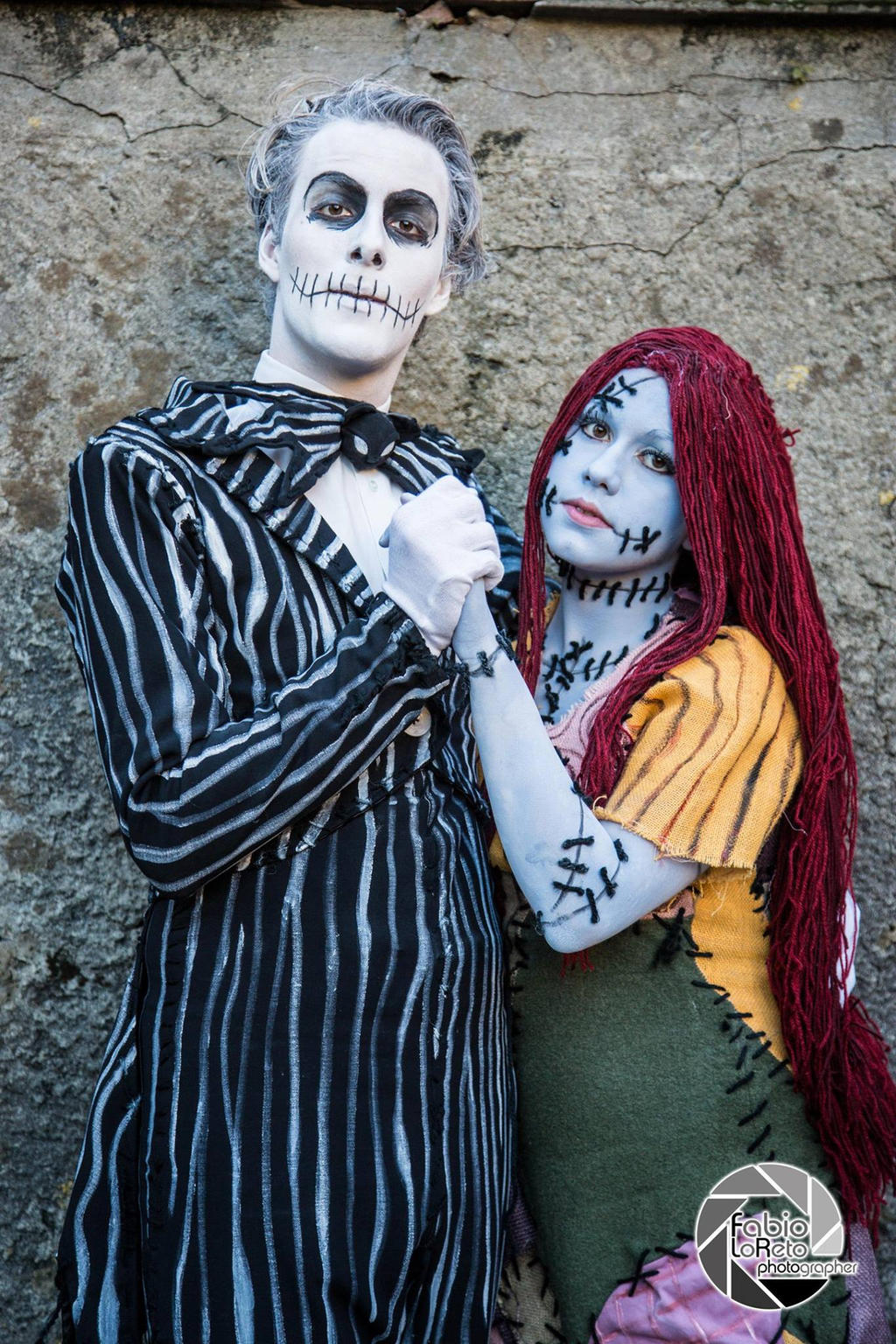Jack and Sally from The Nightmare Before Christmas by MaKi-Cosplay ...