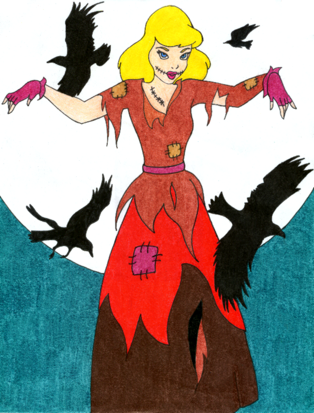 Scarecrow Cinderella by treznorspants