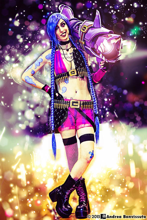 Jinx - League of Legends by Psydis