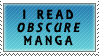 I Read Obscure Manga by Chocolatier-Mihael