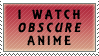 I Watch Obscure Anime by Chocolatier-Mihael