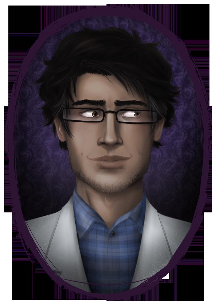 Carlos the Scientist by glitchb0t