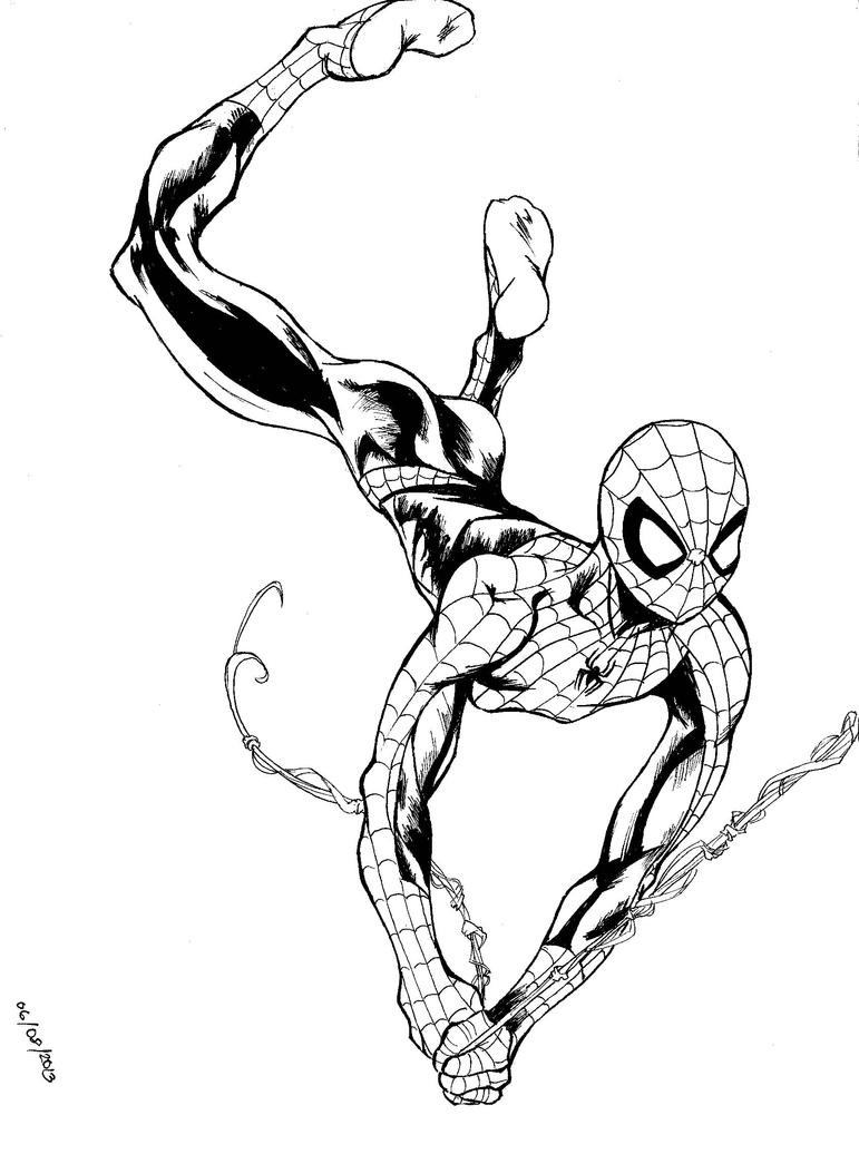 Displaying 19 gt  Images For - How To Draw Ultimate Spider Man   How To Draw Ultimate Spider Man