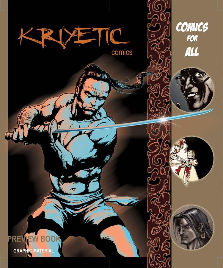 KRIYETIC COMICS Vol.1 Cover by avix