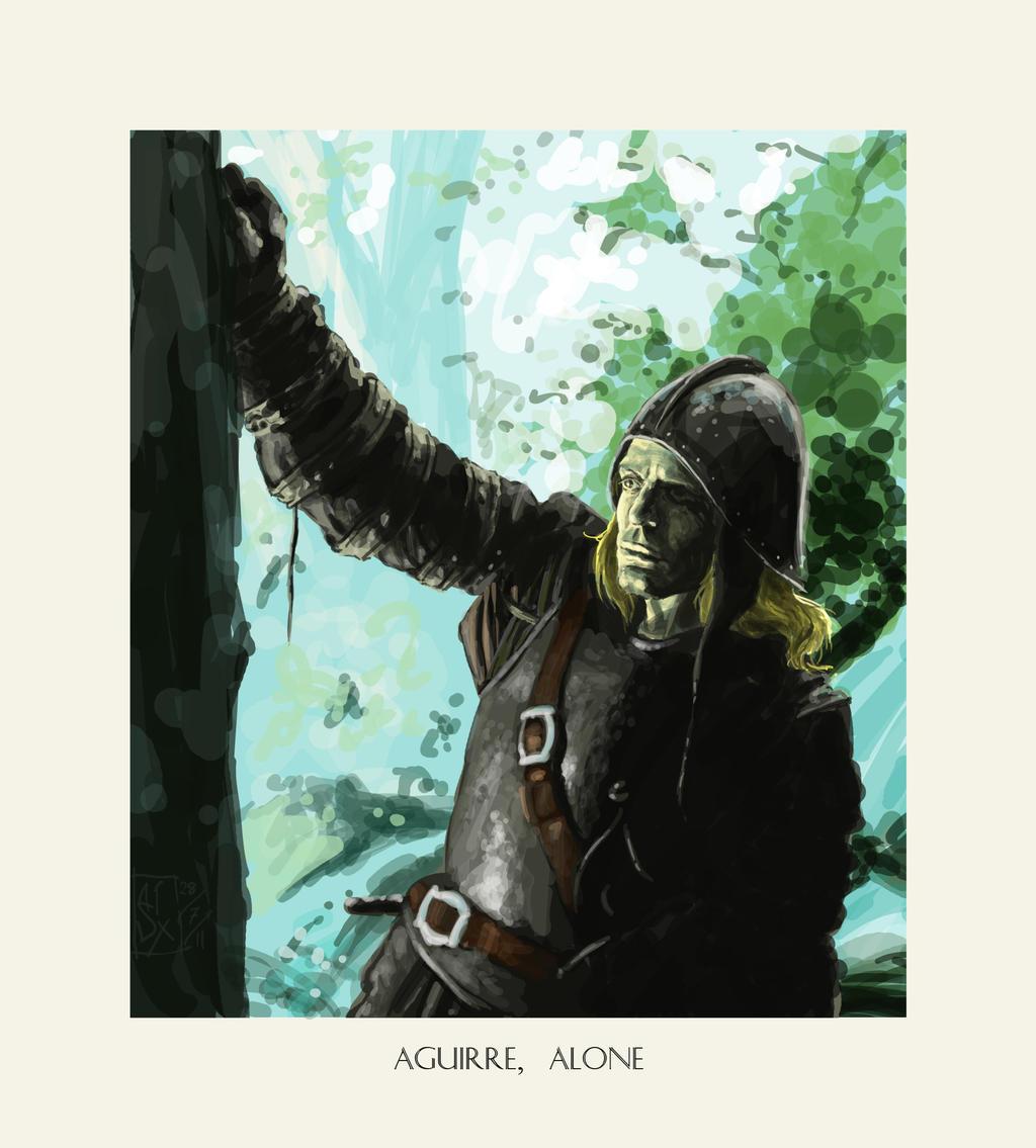 Aguirre, Alone