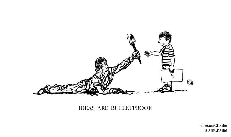 Ideas Are Bulletproof by avix