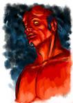 Hellboy  (sketch)