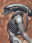 H.R. Giger's Alien: Brown
