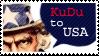 Kudu to USA Stamp by Eeeevi