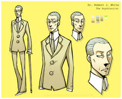 IYH: Dr. White - Ref sheet 01 by Eeeevi